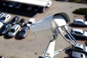 Videoüberwachung am Parkplatz