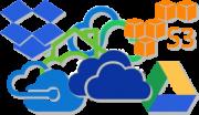 Clouddienste - OneDrive, S3, Google Drive, Dropbox, Azure